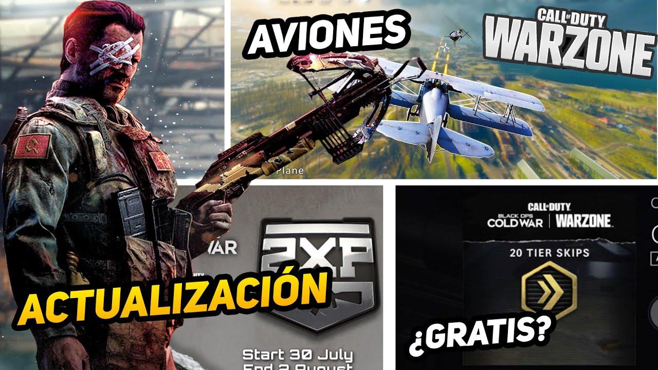¿AVIONES? en WARZONE (evento), armamento ROTO!, ¿Gratis saltos de nivel? y más - ALKA593