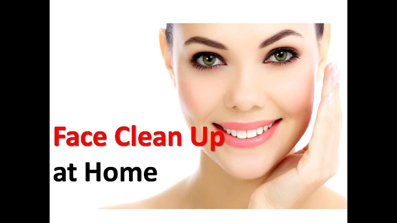 how to get clear face naturally at home
