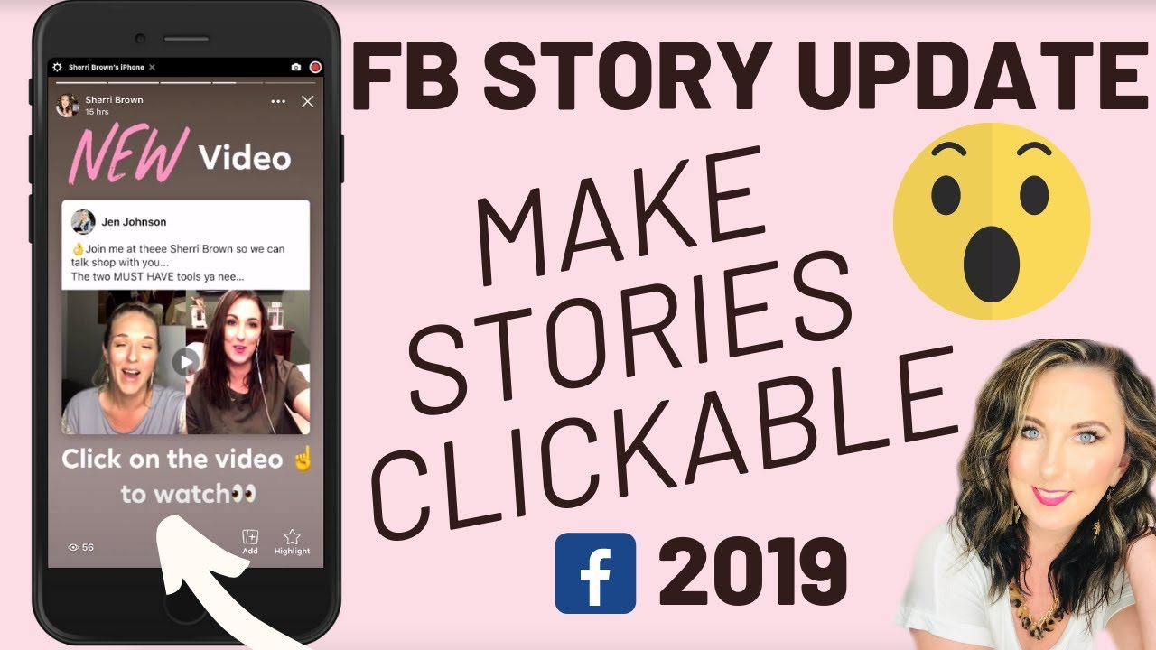 Make Posts Clickable in FB Stories   Facebook Story Tutorial 2019