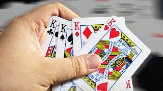 Card Tricks: How to deal four kinds when gambling