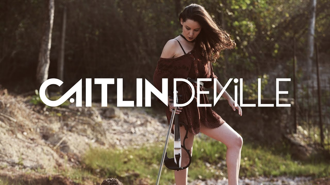 What About Us (P!nk) - Electric Violin Cover | Caitlin De Ville #1