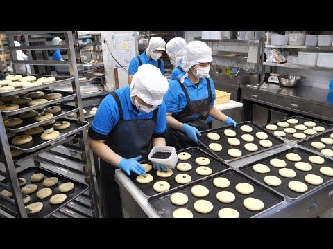 3000 Chiếc được Bán Hết Mỗi Ngày! Bánh Mì đậu đỏ Ngọt óc Chó - Món ăn đường Phố Hàn Quốc