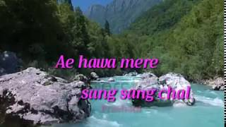 Ae Hava Mere Sang Sang Chal WhatsApp Status