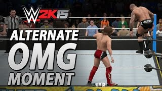 WWE 2K15: Hidden Alternate OMG Moment?