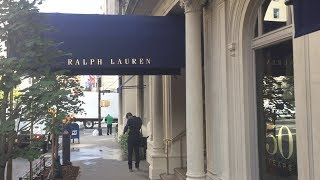 Ralph Lauren's Flagship Women's Store On Madison Avenue, New York
