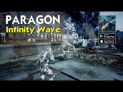 Paragon: InfinityWave - TPS Shooting Gameplay (Android/IOS)