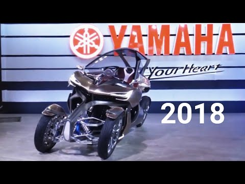 The Yamaha 2018 Motorcycles - Show Room JAPAN