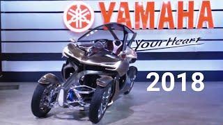 The Yamaha 2018 Motorcycles - Show Room JAPAN