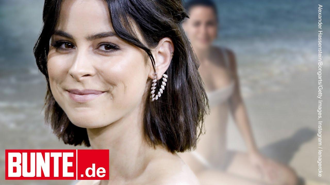 Lena Meyer-Landrut - Sexy Strandfoto! Sie zeigt sich im