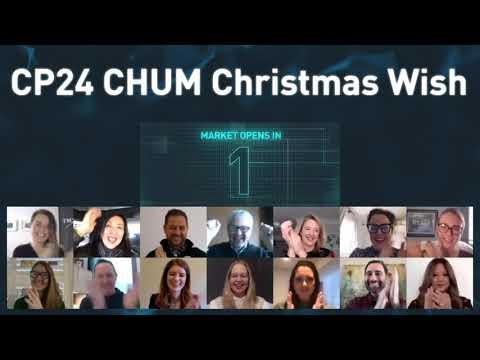 CP24 CHUM Christmas Wish Virtually Opens The Market