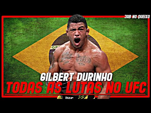 Gilbert Durinho TODAS As Lutas No UFC/Gilbert Burns ALL Fights In UFC