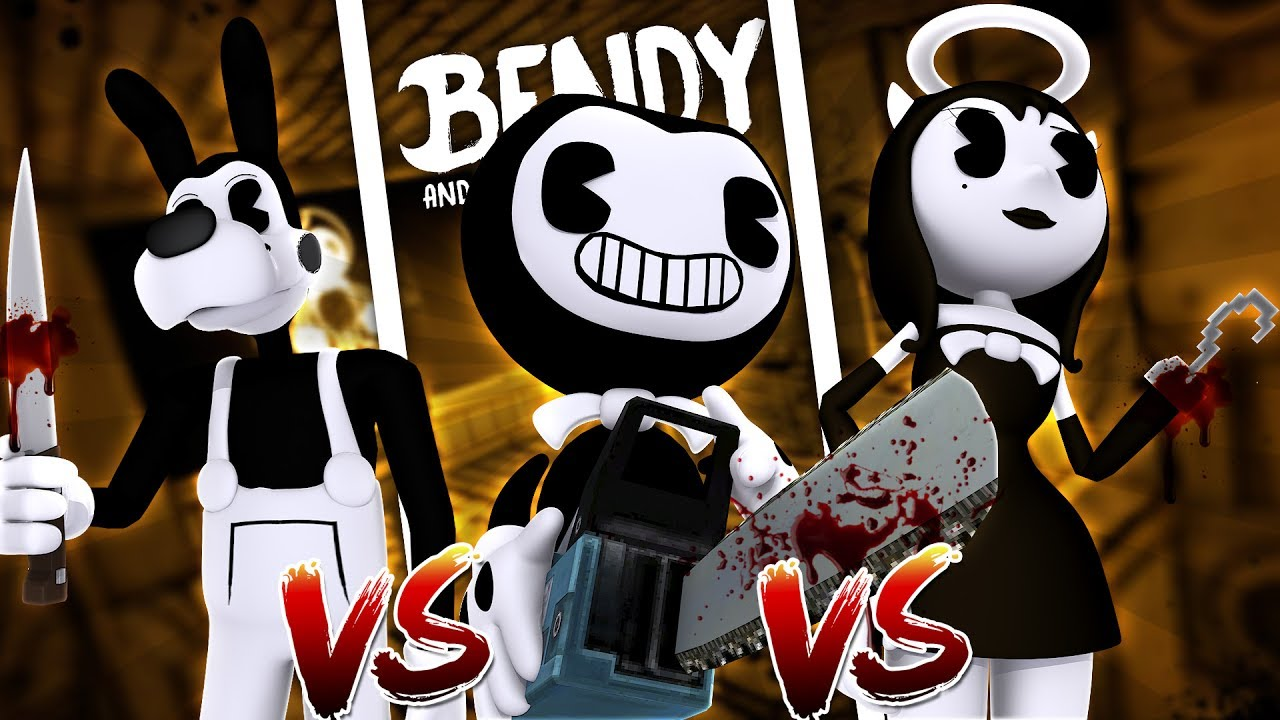 Angel Machine Bendy And Ink Bendy Alice And