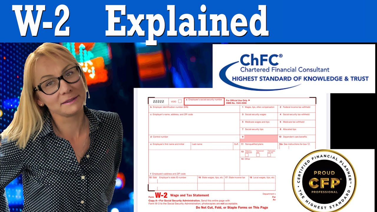 Download What's a W2 Form - W2 explained in 2020