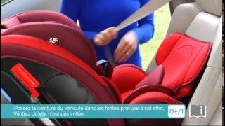 Installation du siège-auto groupes 0+, 1, 2 et 3 EVERY STAGE de JOIE