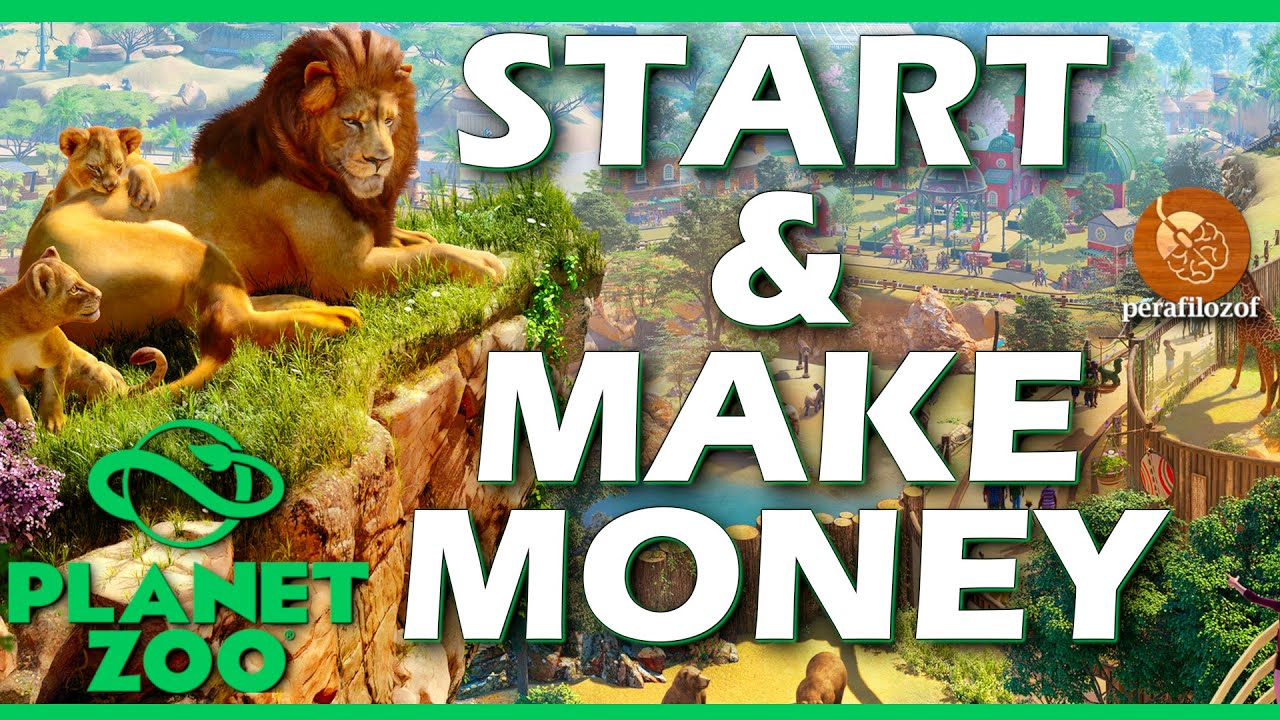 Planet Zoo How to Start tutorial and Make money, Guide #1