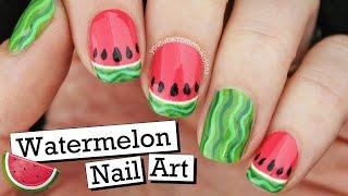 Cute Watermelon Nail Art! | Summer Fruit Series