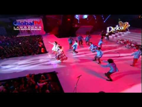 WALI Feat ZASKIA GOTIX & SITI BADRIAH Live At Kreas1 1ndonesia (08-10-2013) Courtesy GLOBAL TV