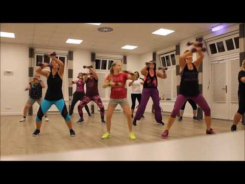 Mi Gente by J. Balvin & Willy William, Zumba Toning Choreography by Doris Preuß