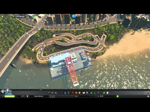 Cities Skylines - Tour of the City of Dean Ambrose
