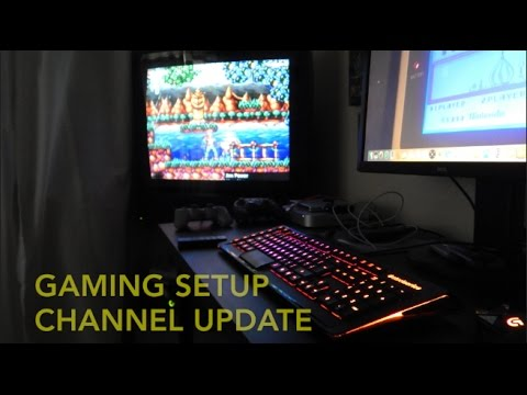 Videogame setup