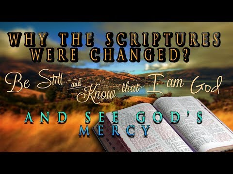 The Great Deception!!! (Why The Scriptures were Changed!!)