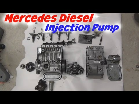 Mercedes Diesel Injection Pump Teardown