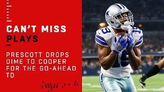 Dak Prescott Drops Dime to Amari Cooper for the Go-Ahead TD!