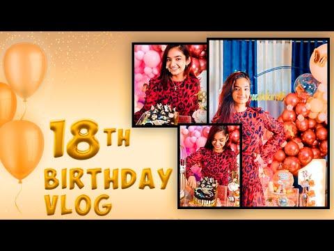 My 18th Birthday Vlog | Quarantine Birthday | Anushka Sen