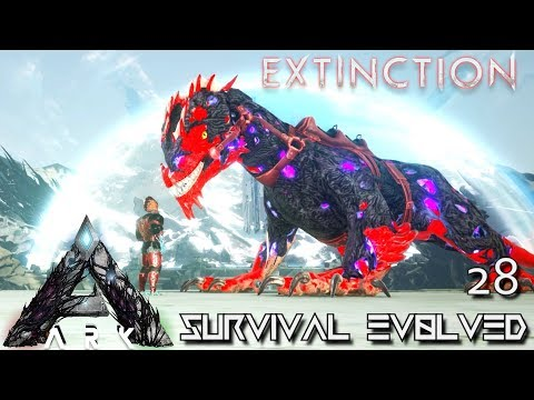 ARK: EXTINCTION - CORRUPTED ROCK DRAKE TAMING & BREEDING !!! | ARK SURVIVAL EVOLVED GAMEPLAY E28