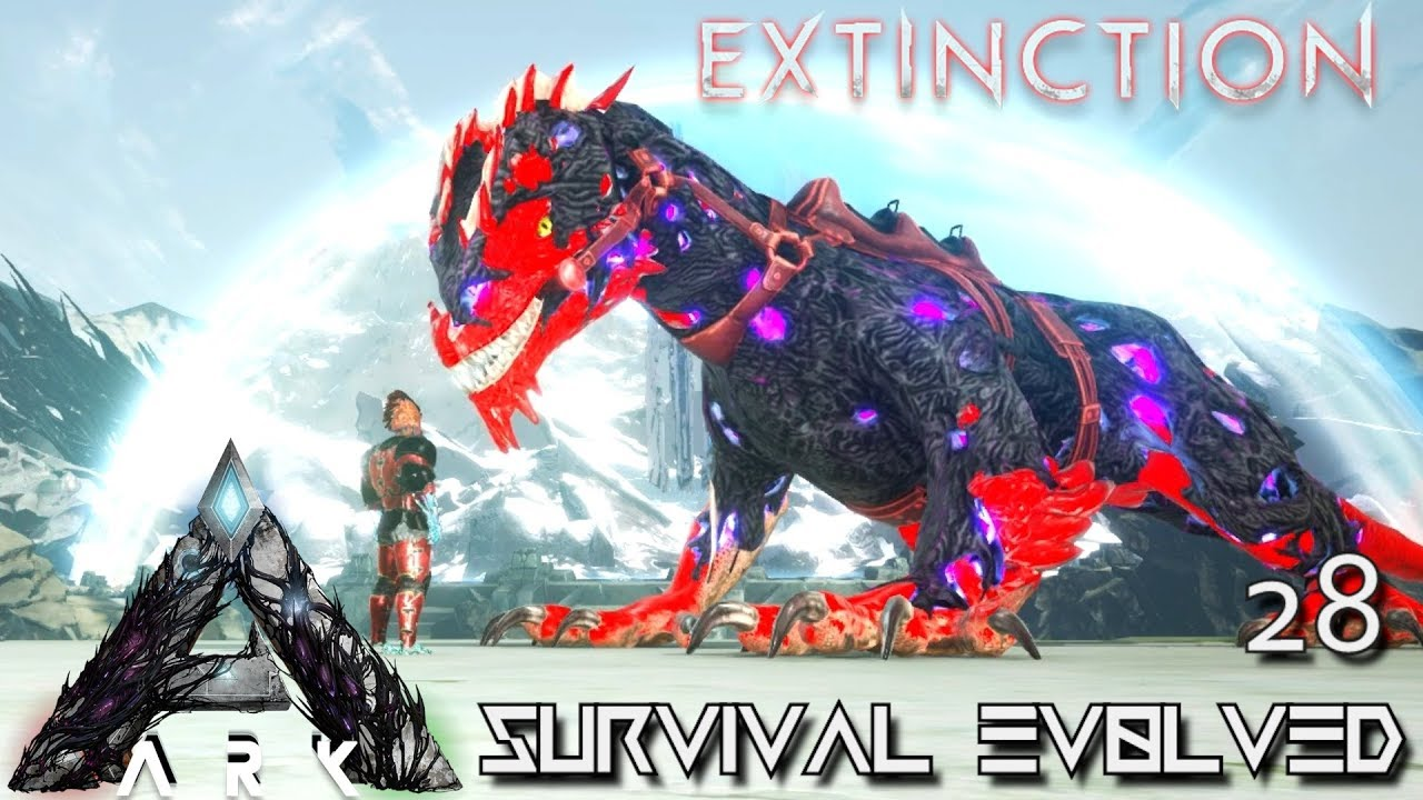 ARK: EXTINCTION - CORRUPTED ROCK DRAKE TAMING & BREEDING !!! | ARK SURVIVAL  EVOLVED GAMEPLAY E28