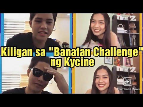 "Kycine Kilig"" Banatan Challenge"" #Kyleecharri#Francinediaz#kycine"