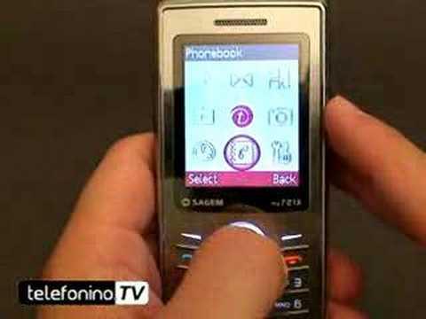 Sagem My721 videoreview da Telefonino.net