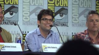 Dan Mintz (Tina) from Bob's Burgers at Comic Con