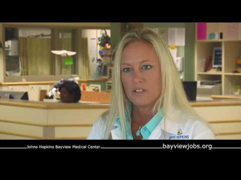 Johns Hopkins Bayview: SICU Nurse Portrait