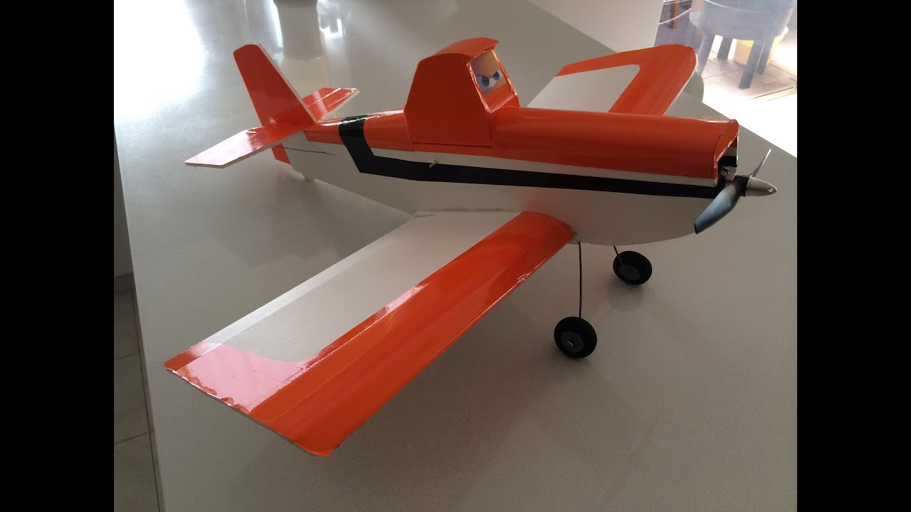disney planes dusty ft duster by flite test youtube