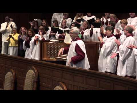 The Hallelujah Chorus and the Widor Toccata