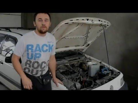 Ремонт ГЕНЕРАТОРА, и замена ПОМПЫ на Volkswagen Passat b3