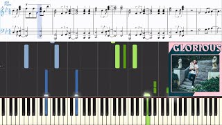Download Macklemore ft. Skylar Grey - Glorious (Synthesia Piano Tutorial w/Lyrics) MP3 song and Music Video