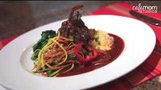 Slow-cooker Short Ribs, Smashed Potatoes And Sautéed Spinach - Dinner Boot Camp - Episode 8