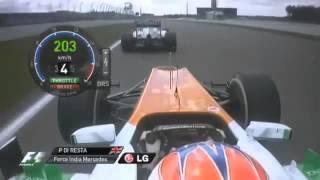 Формула 1. Германия 2012. Лучшие моменты.