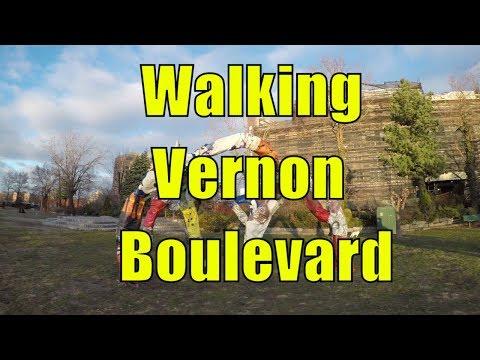 ⁴ᴷ Walking Tour of Long Island City & Astoria, Queens, NYC - Vernon Boulevard & Shoreline Parks