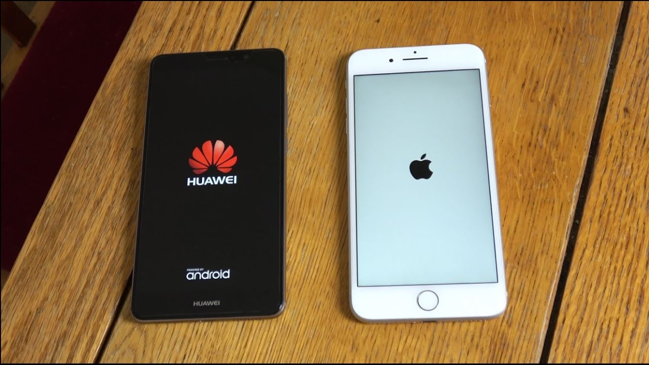 Huawei Mate 9 Vs Iphone 7 Plus Which Is Fastest Youtube