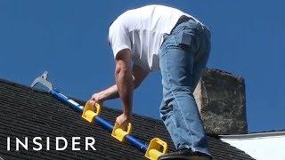Lightweight Ladder Makes Roof Work Safer