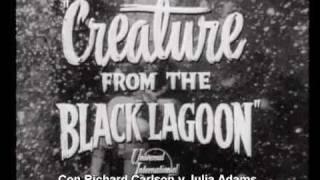 Creature from the Black Lagoon (La Mujer y el Monstruo, 1954) Trailer Español