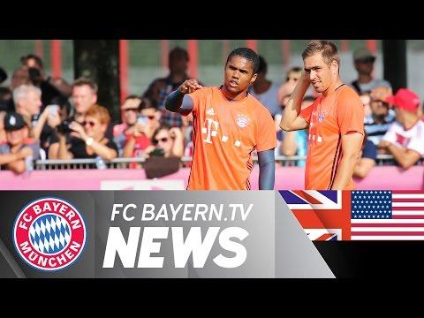 Bayern train without nine internationals
