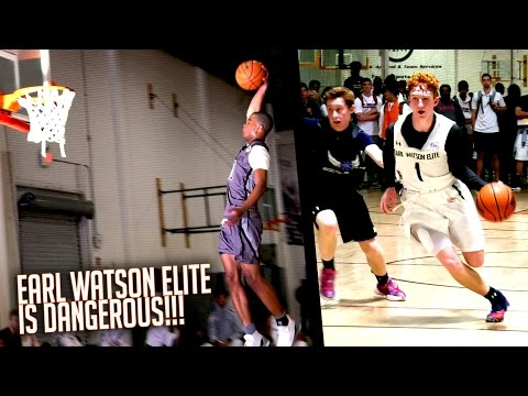 Earl Watson AAU Squads Are FULL of TALENT! Week 1 Feat. Cassius Stanley Nico Mannion & MORE!