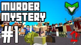 Murder Mystery 2 ROBLOX Ep.1 w/Ethan&Mason