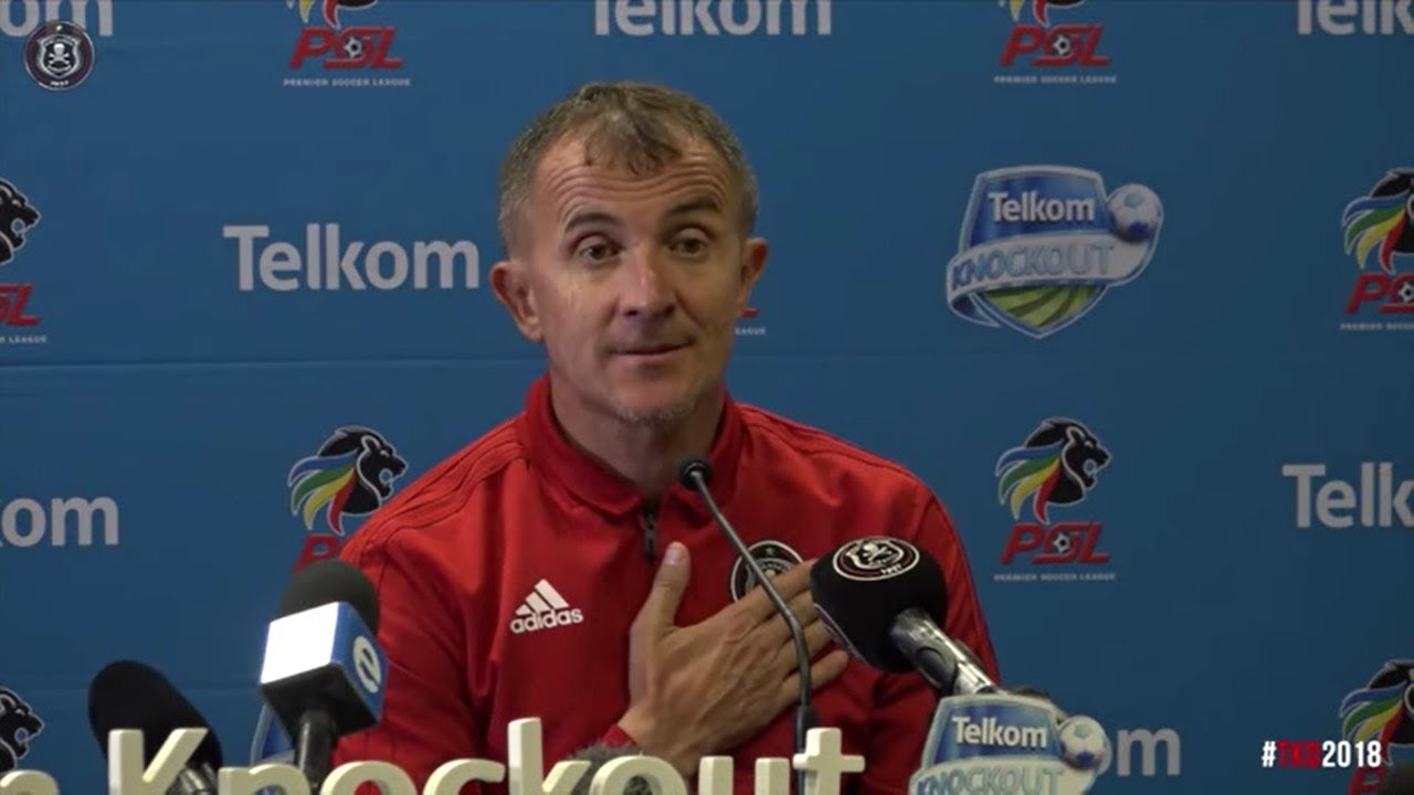 Orlando Pirates | Telkom Knockout 2018 SF | vs Kaizer Chiefs | Post Match Press Conference