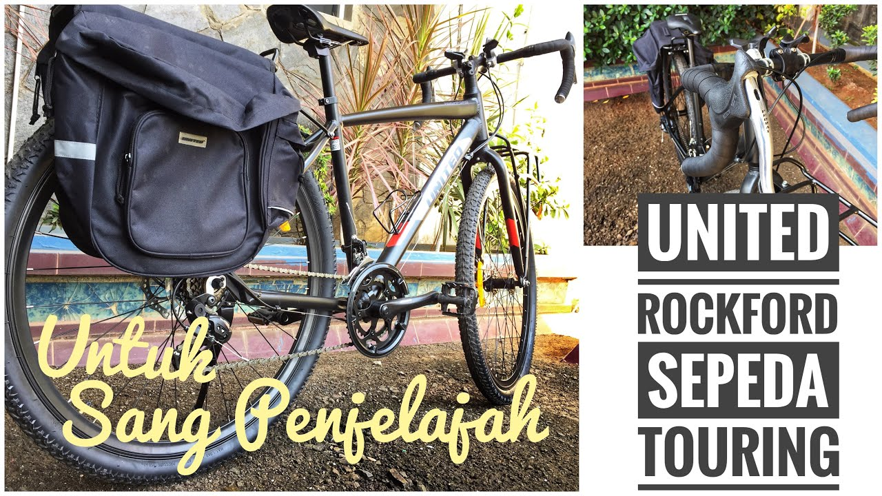 """Review Sepeda Touring United Rockford 29"""" Indonesia - YouTube"""