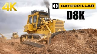 Caterpillar D8K Dozer Working Hard